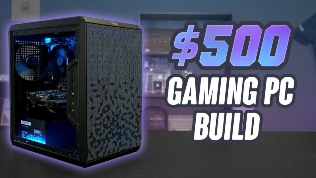 Overview of the Console-Killer $500 Gaming PC